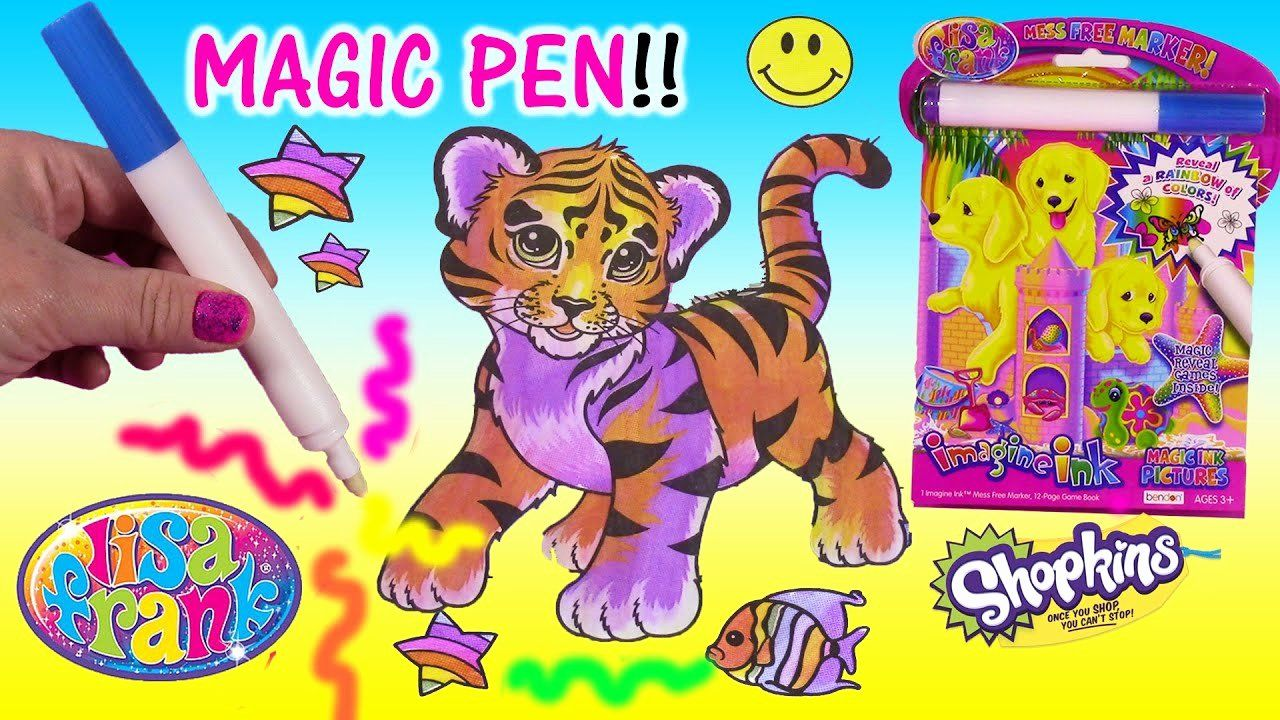 Rainbow Tiger Coloring Book Images