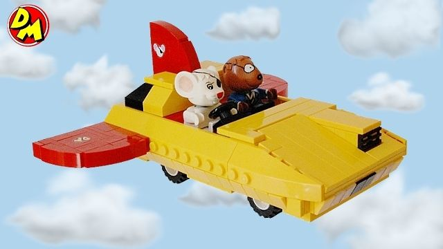Dangermouse's flying car Lego stylie!