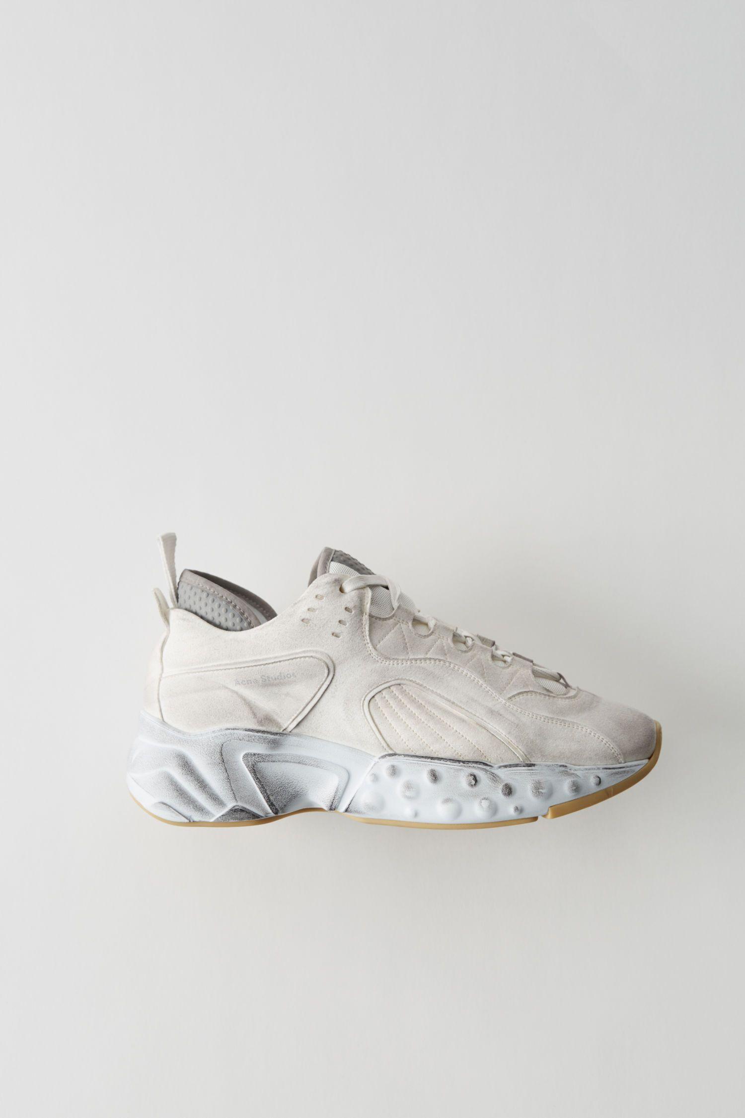 ACNE STUDIOS Technische Sneakers weiß