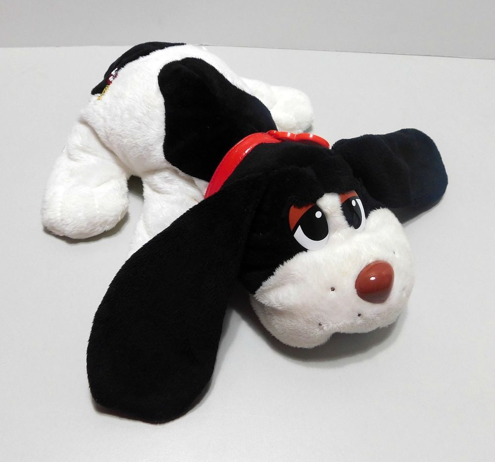 "13"" Pound Puppies Plush Stuffed Toy Dog Collar Tush and Heart Tag"