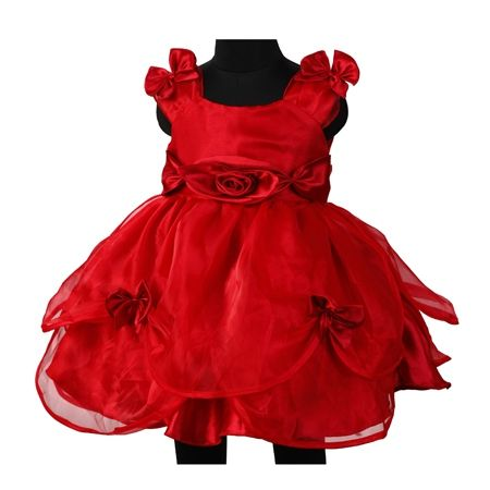 00994030b Birthday dress for 1 year old baby girl - IndusLadies