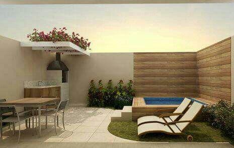 Ideas para piscinas peque as piscinas peque os y patios for Terrazas para patios pequenos