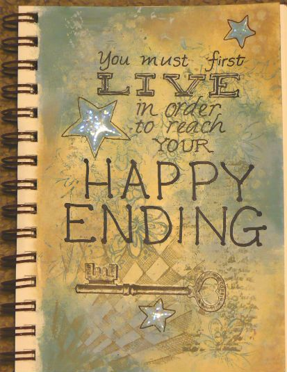 Get a life!  Journal page by Pam McVay