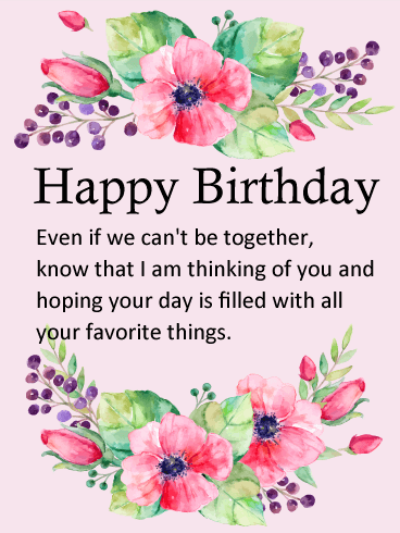 You are a Beautiful Person - Flower Happy Birthday Wishes Card ...