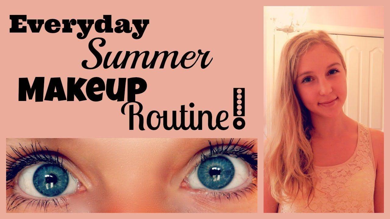 Everyday Summer Makeup Routine! (+playlist) Summer