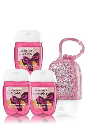 A Thousand Wishes 3 Pack Pocketbac Holder Bath Body Works
