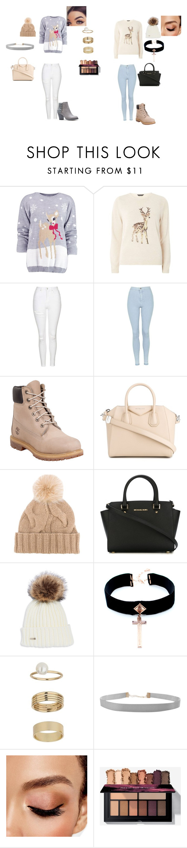 """Untitled #119"" by maritzar625 on Polyvore featuring Boohoo, Dorothy Perkins, Topshop, Timberland, Givenchy, Loro Piana, MICHAEL Michael Kors, VSA, Miss Selfridge and Humble Chic"