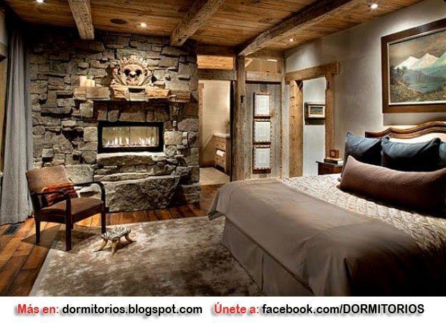 Habitaciones estilo rústico Sugerencias de decoración Pinterest