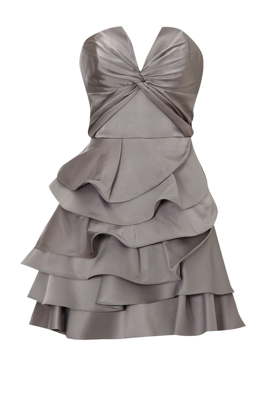Pretty grey bridesmaid dress wedding ideas pinterest dresses