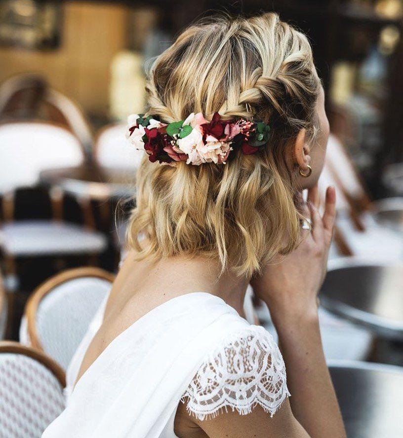 Joy On Instagram Coiffure Mariage Make Up Mariee Coiffure