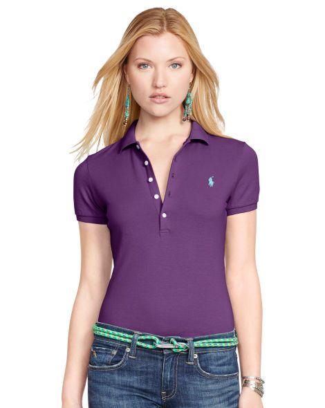 60bbb4dea4ff Skinny Stretch Polo Shirt - Polo Ralph Lauren Polos - RalphLauren ...