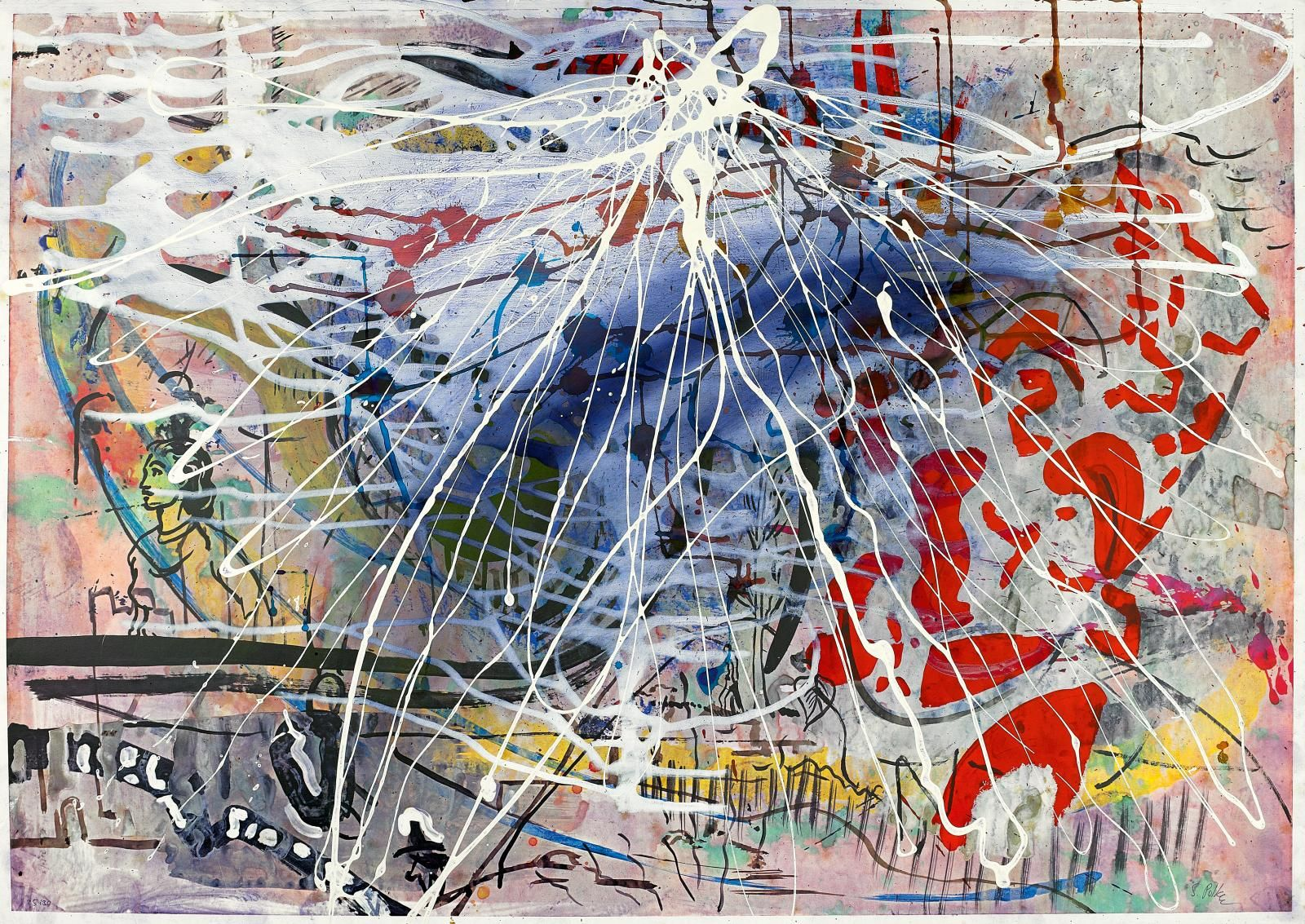 Sigmar Polke Pop Art Art Artwork