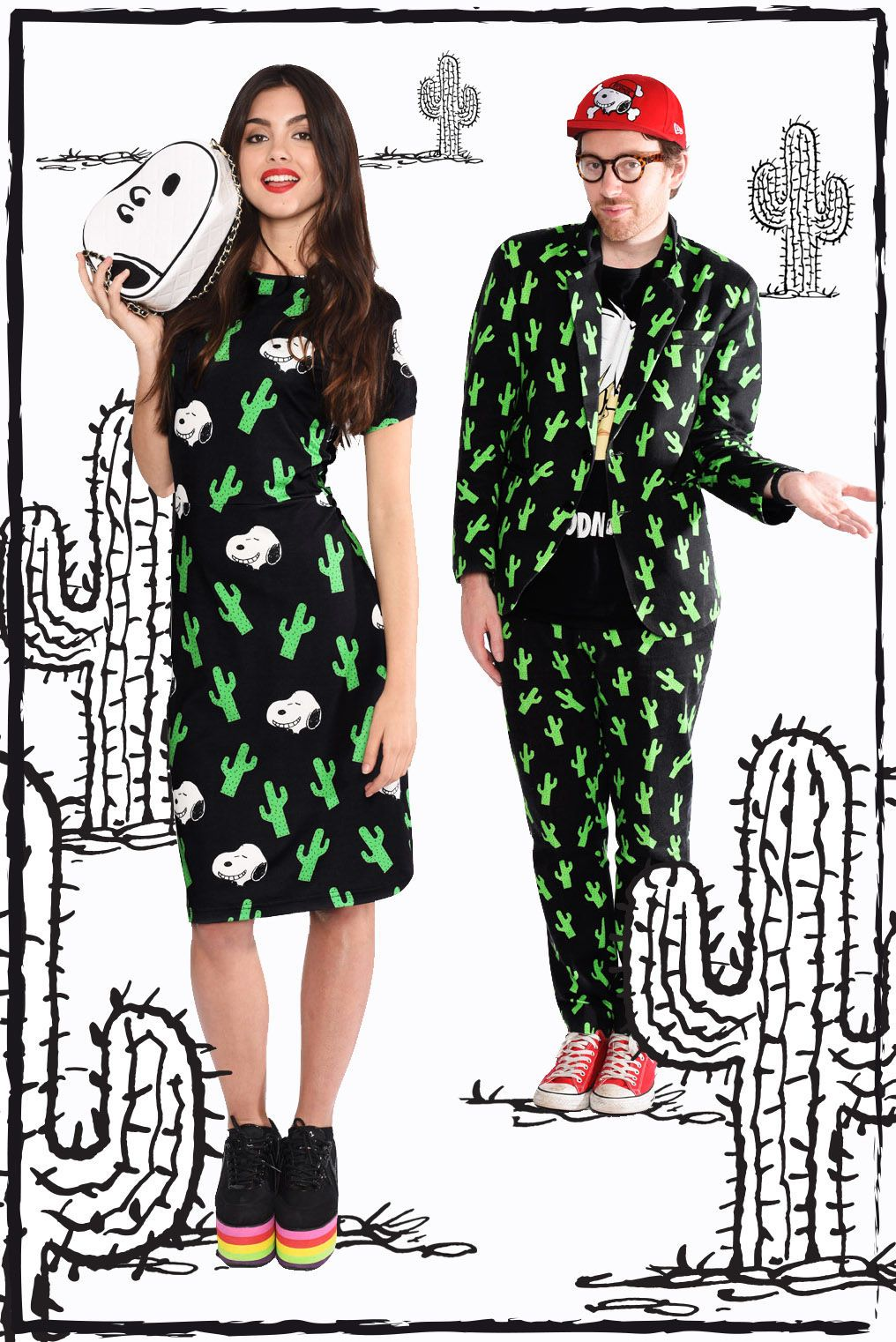 Don't worry—you and your person can wear matching outfits, because why not?