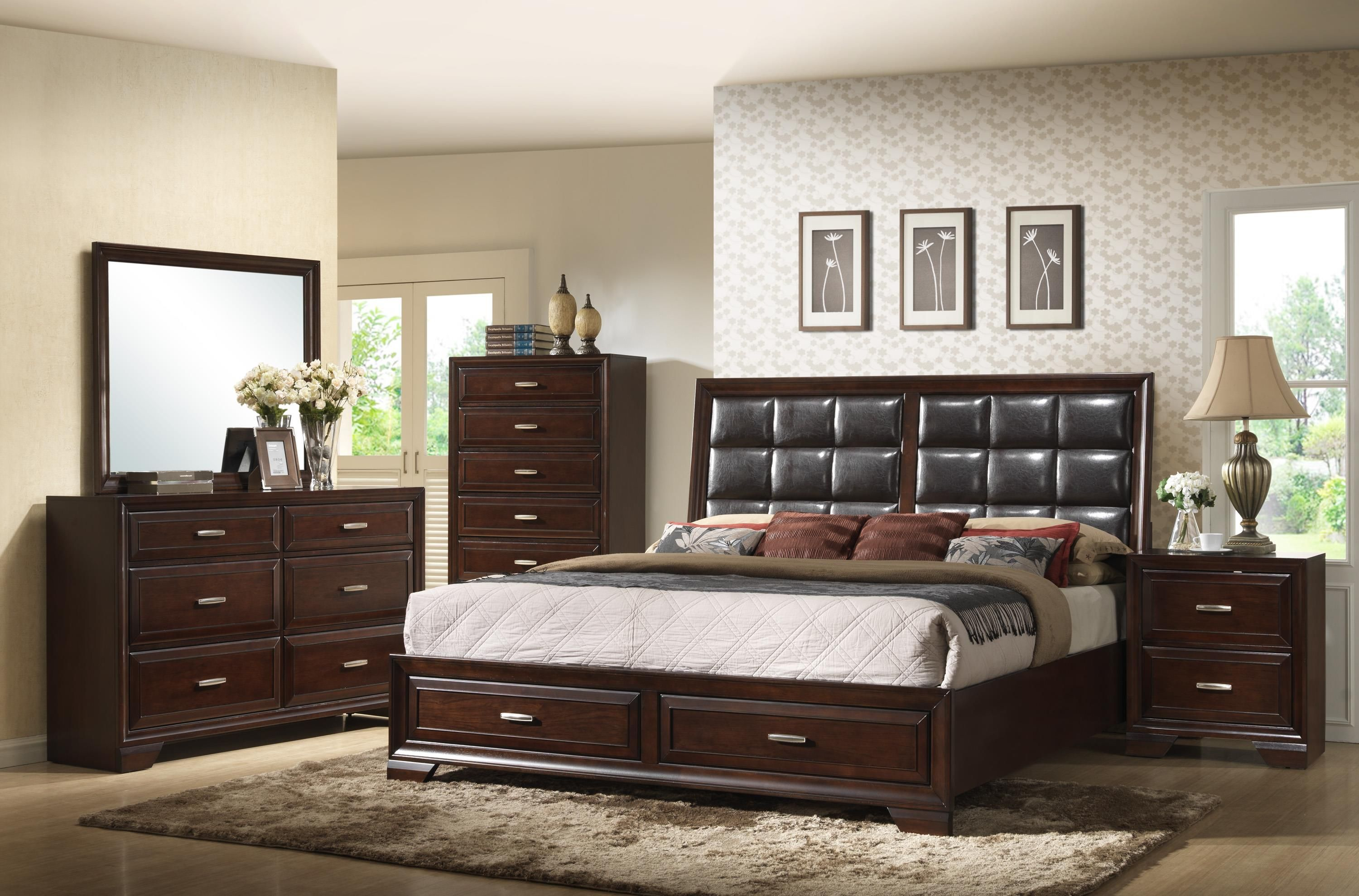 Jacob Queen Bedroom Group by Crown Mark | Semia | King ...