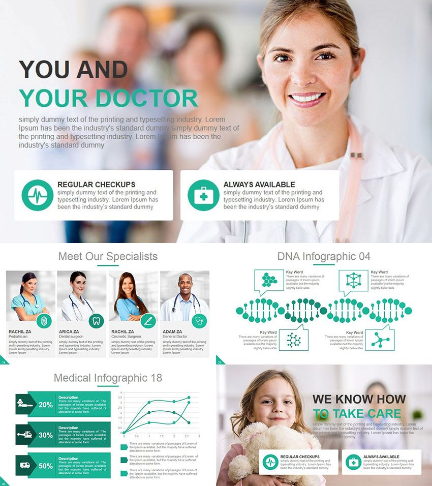 healthcare medical ppt template | ppt | pinterest | articles, Presentation templates