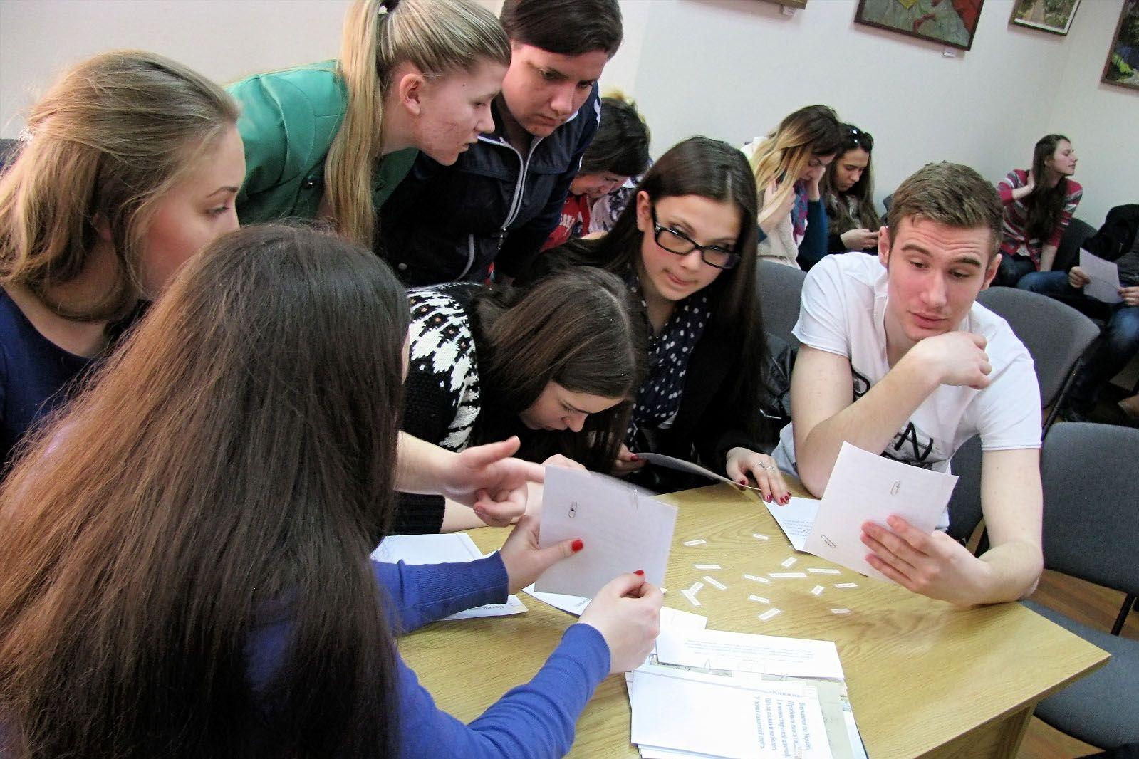 Студентська вікторина у конференц-залі бібліотеки