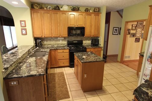 In This Kitchen We Updated The Existing Cabinets With Cambria 3cm Hollinsbrook Quartz Countertop