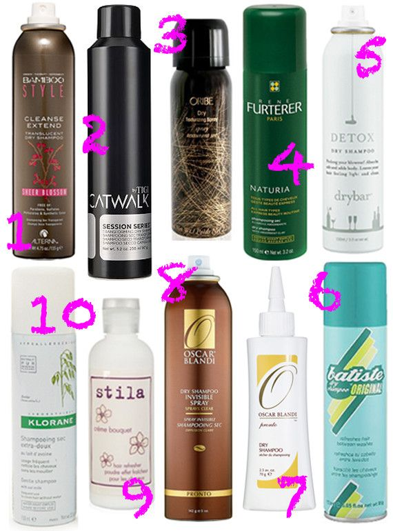 The Top 10 Dry Shampoos Hair Makeup Makeup And Greasy Hair