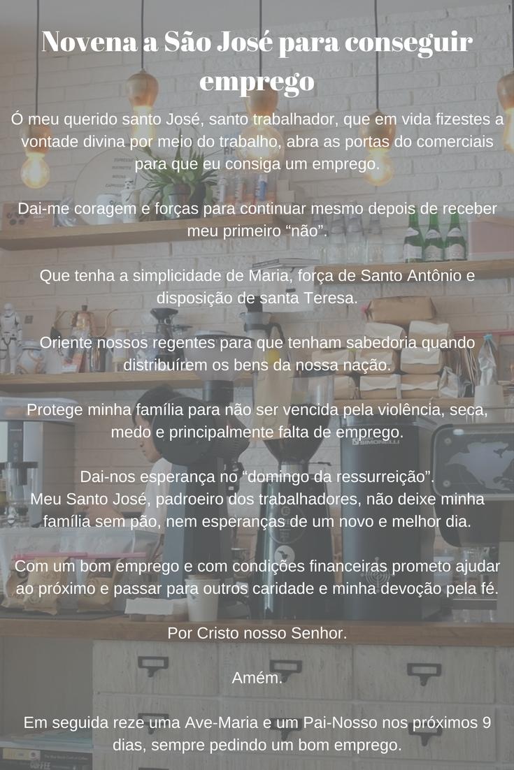 Excepcional Novena a São José para conseguir emprego #novena #oração | Oração  EI97