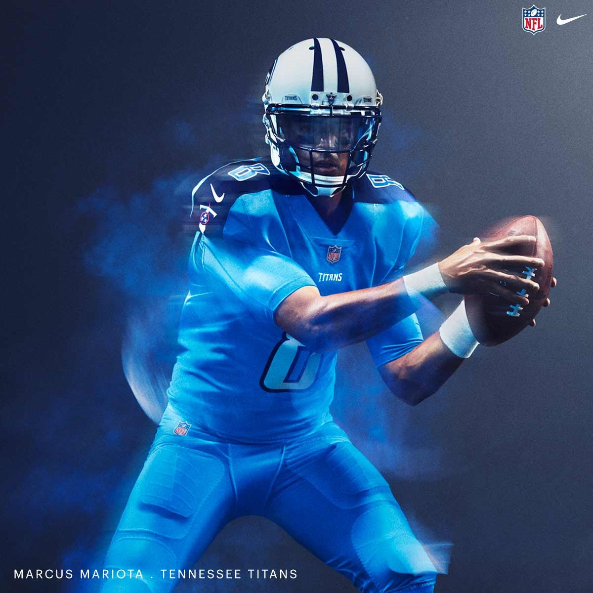 8a20dc7e943 NFL Nike Color Rush 2016 Jersey - Tennessee Titans