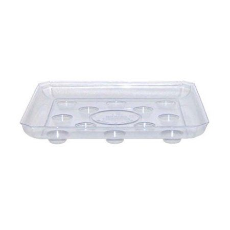 10 12 14 Clear Carpet Saver Heavy Duty Square Plant Saucer Walmart Com Plant Saucer Plant Saucers Potted Plants Outdoor