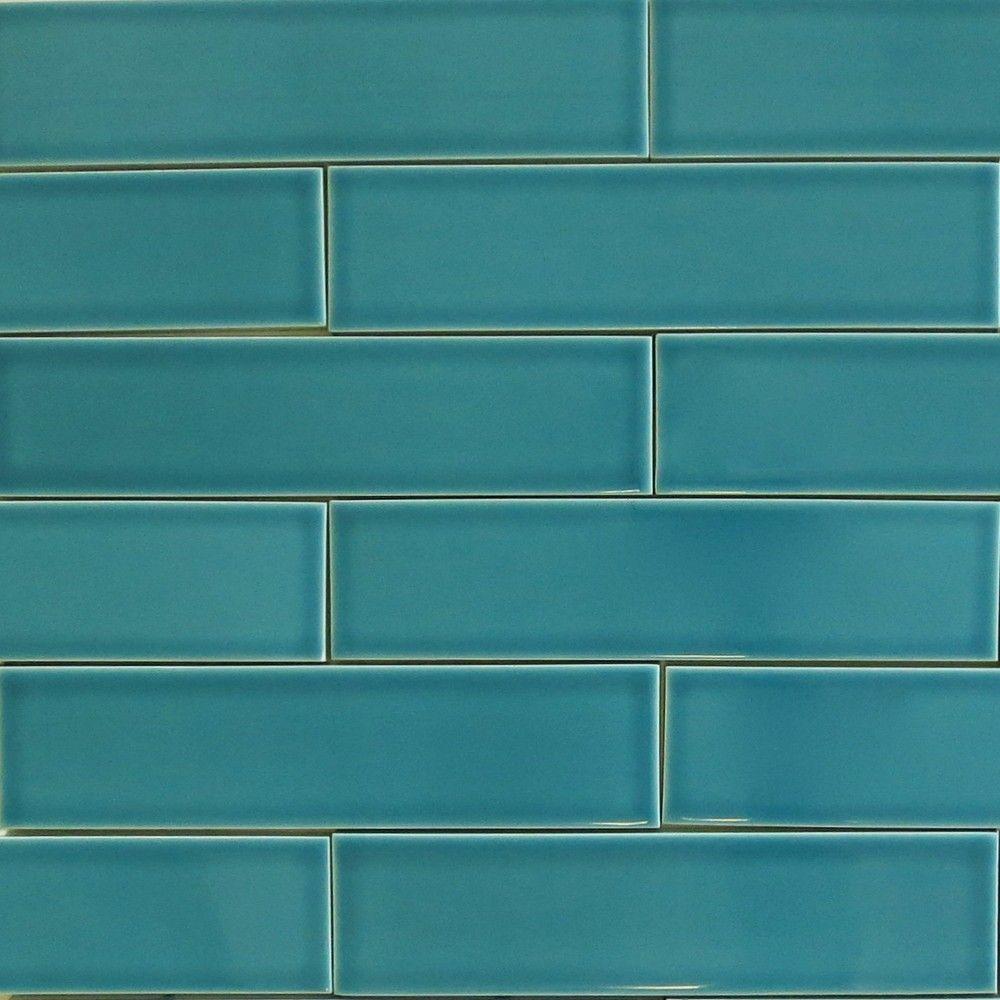 Clayhaus 2x8 Teal Agate - Blue Green Ceramic Tile - Our 2x8 ceramic ...
