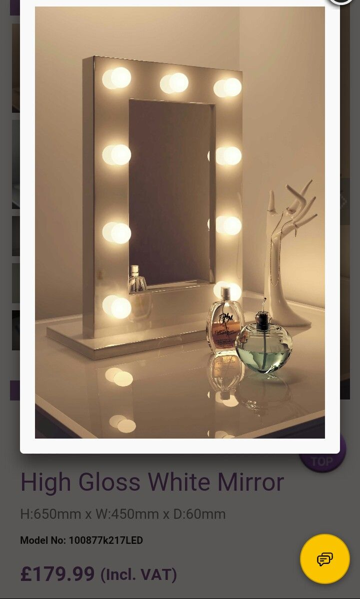Dressing table led mirror bedroom pinterest led mirror