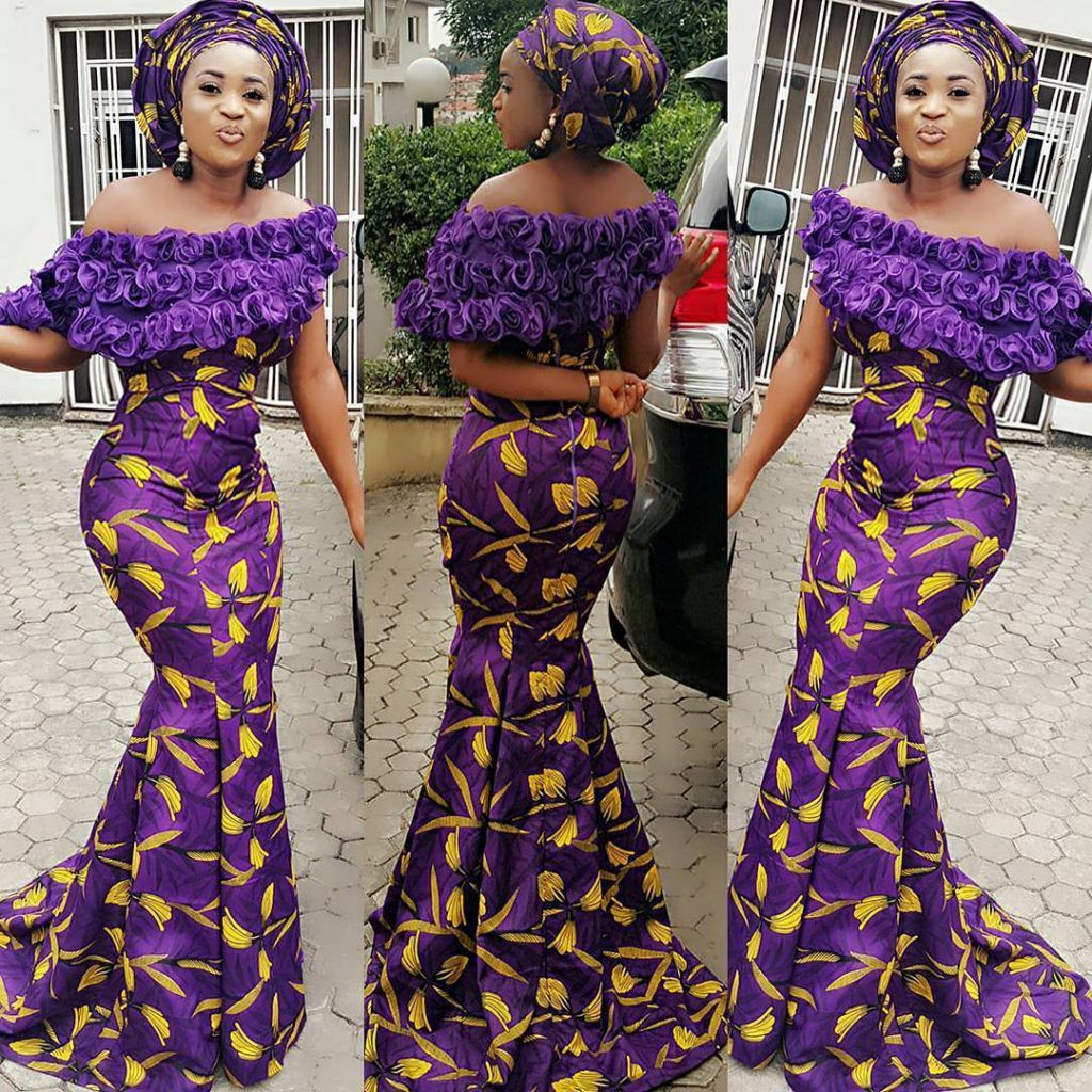 Connu ASO EBI STYLES YOU SHOULDN'T MISS | Robes glamours | Pinterest  GR21