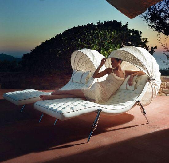 Sveva U2013 Elegant Sun Lounger From Ipe Cavalli