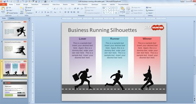 Business running silhouettes powerpoint template powerpoint business running silhouettes powerpoint template powerpoint backgrounds business powerpoint templates powerpoint slides for toneelgroepblik Images