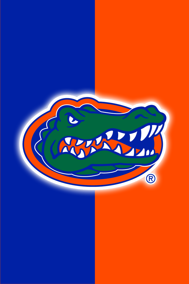 Get A Set Of 12 Officially NCAA Licensed Florida Gators IPhone Wallpapers With Your Teams Exact Digital Colors Logos