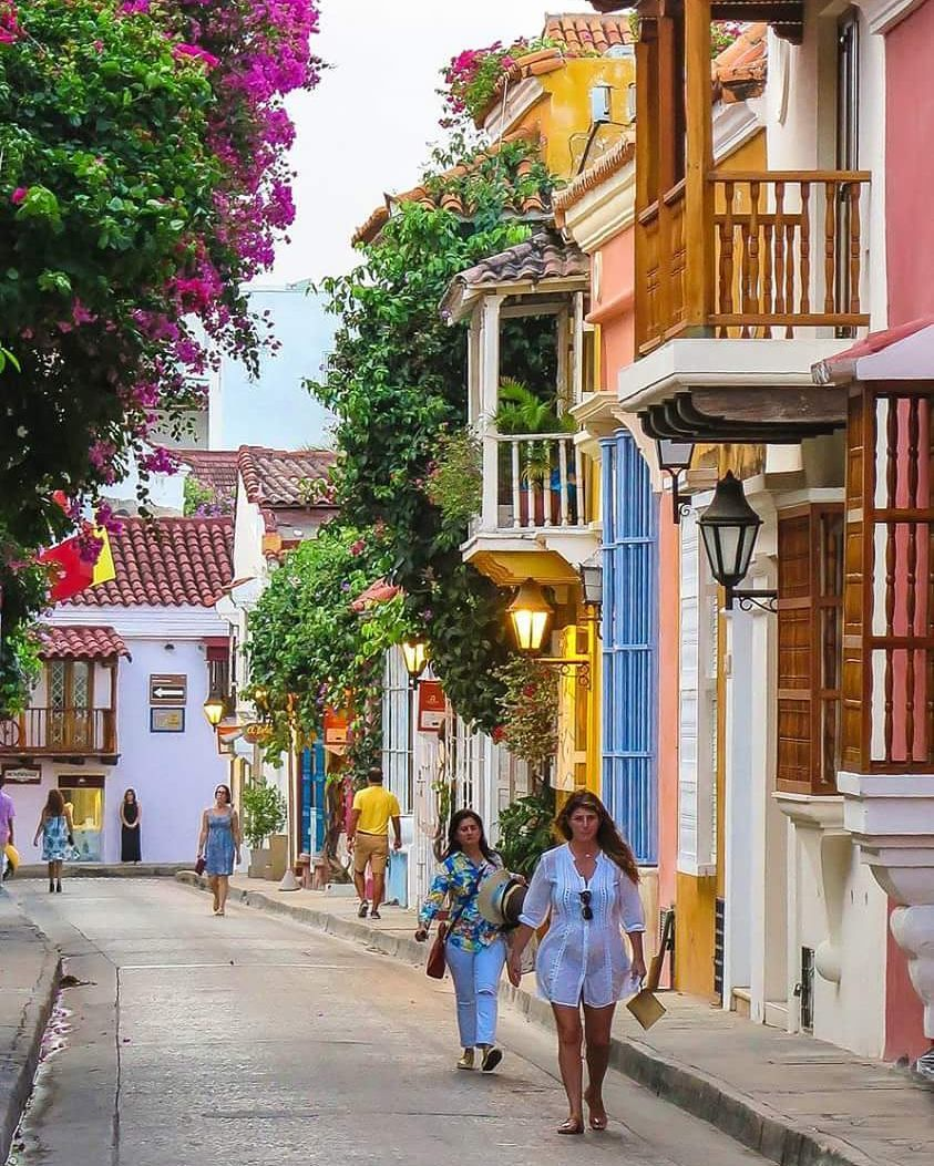Calles de Cartagena de Indias. (con imágenes) Cartagena