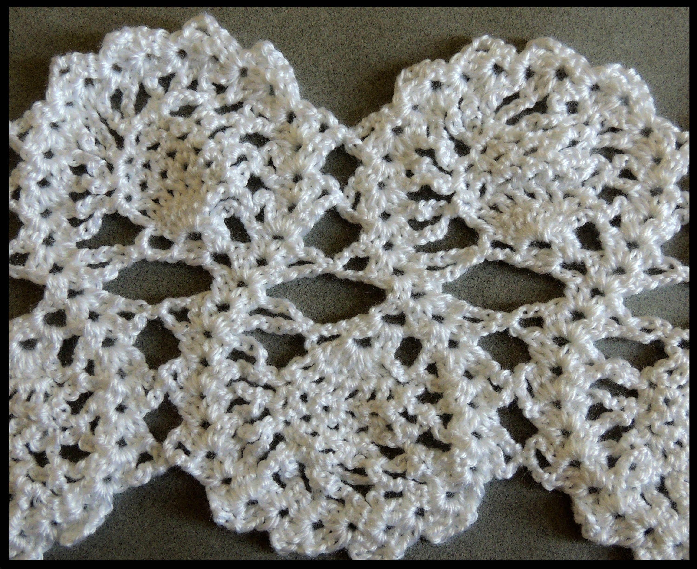 Crochet : Punto Entrelazado # 7.  Parte 2 de 2