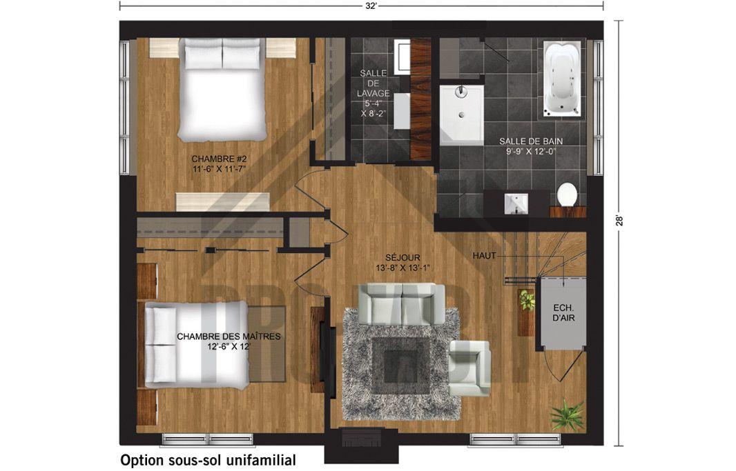Pro fab constructeur de maisons modulaires usin es pr fabriqu es mod le horizon les for Maison modele profab