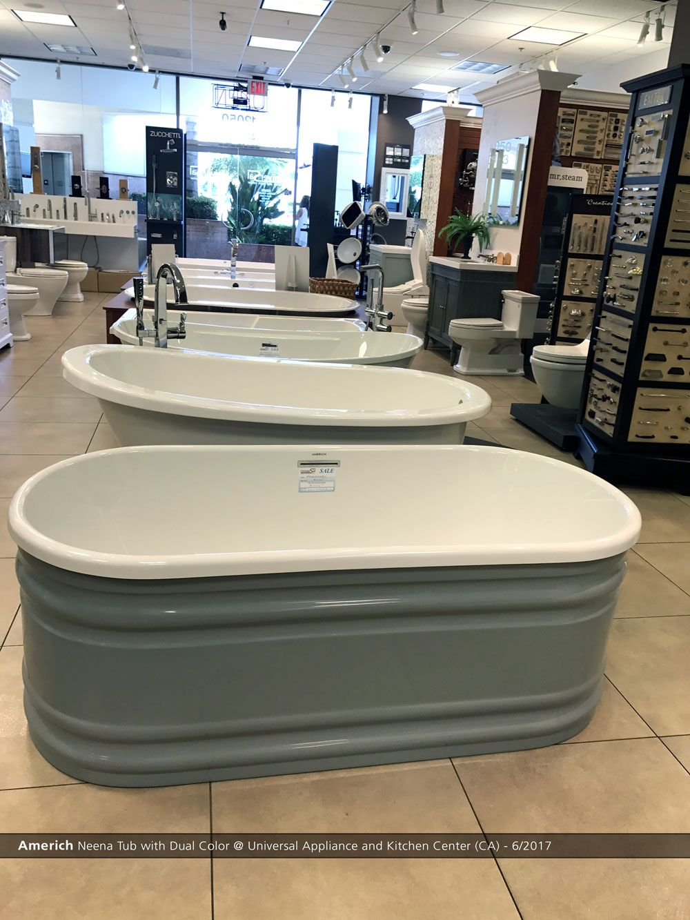 Americh Neena Tub With Dual Color @ Universal Appliance And ...