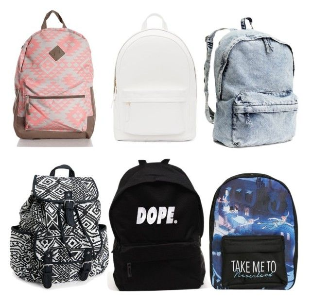 """""""bts aka back to school backpacks part l"""" by tatianademan211 on Polyvore featuring PB 0110, Aéropostale and Disney"""