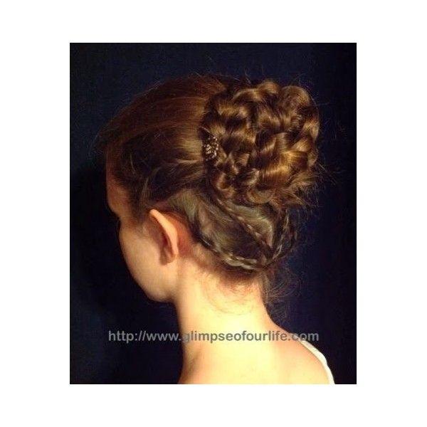 Creativo peinados siglo xix Colección De Tutoriales De Color De Pelo - Regency Style Braided Bun Tutorial liked on Polyvore ...