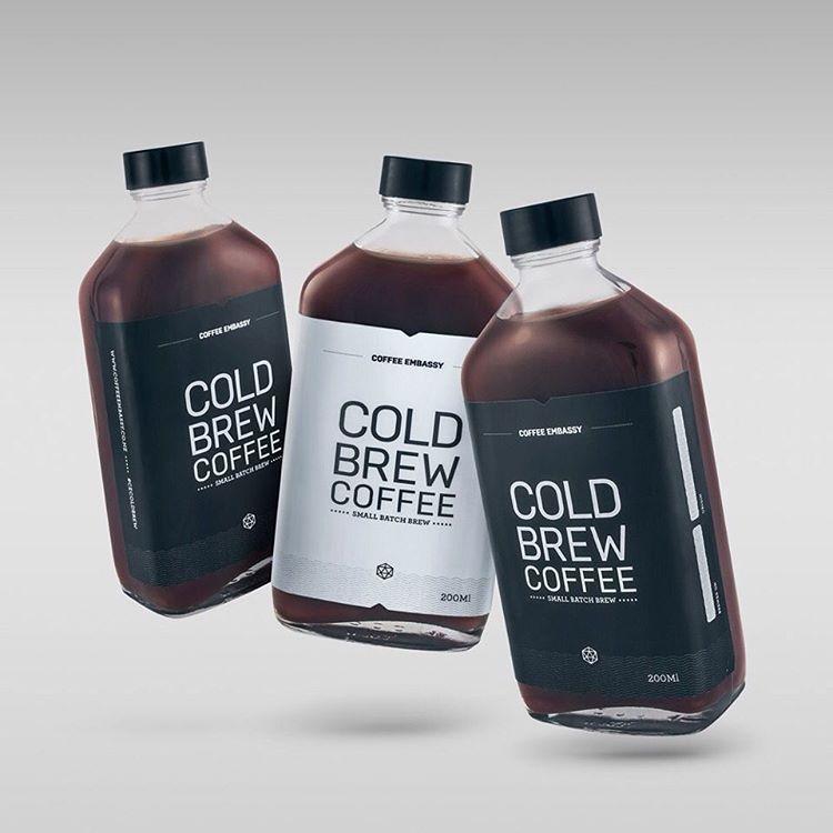 James Reader On Instagram Label Design For Coffee Embassy S Cold Brew Coffee Designspiration Coffee Cecoldbrew Coldbrew Kemasan Label Produk Minuman