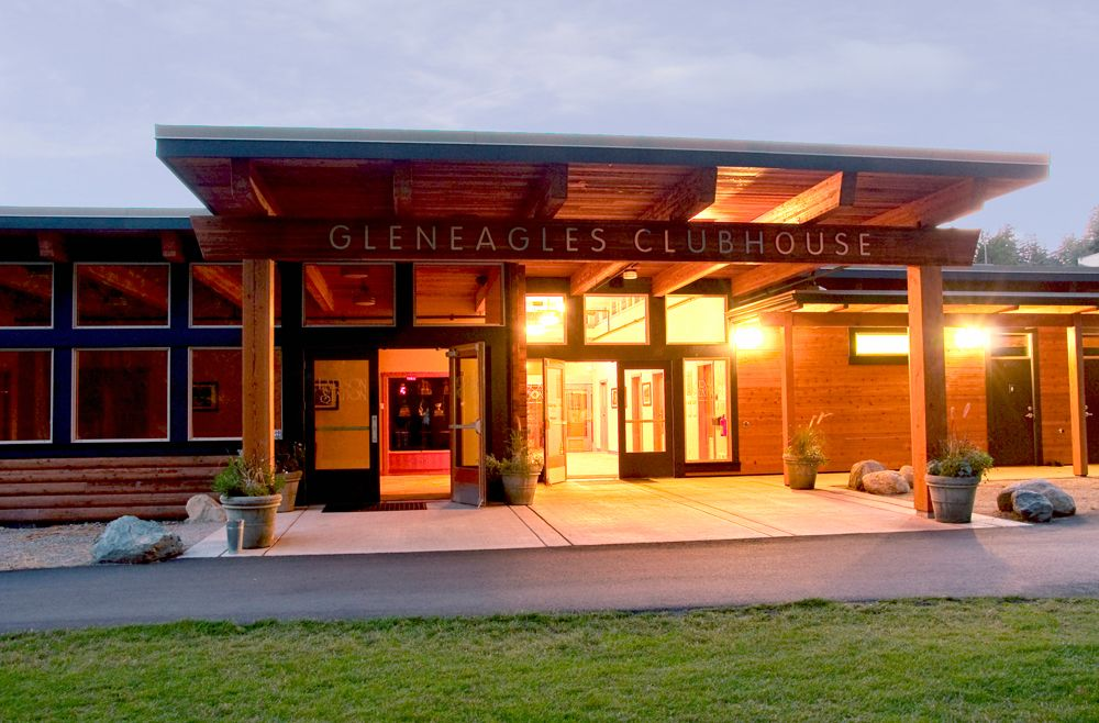 Gleneagles Golf Course Club House West Vancouver Bc Canada