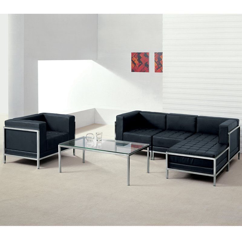 High Quality Tomica Leather Configurable Living Room Set By Orren Ellis Living Room Sets Living Room Leather Furniture