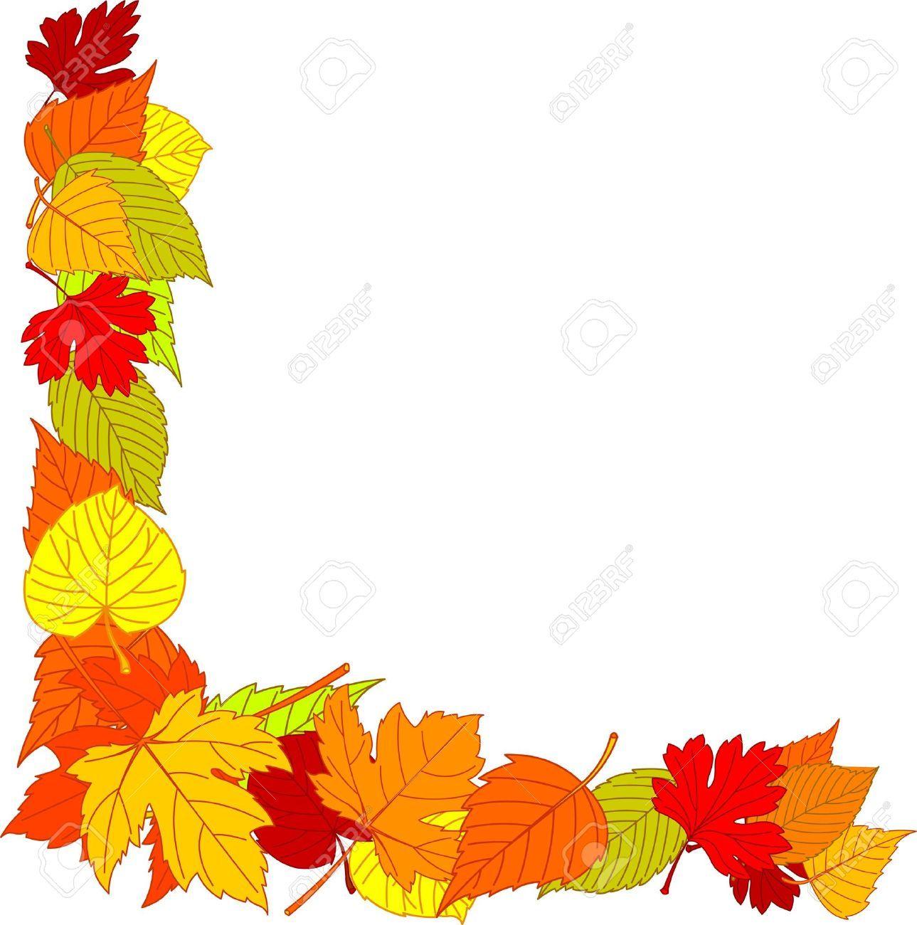 Image Result For Fall Leaf Border Png Clip Art Borders Fall Clip Art Clip Art