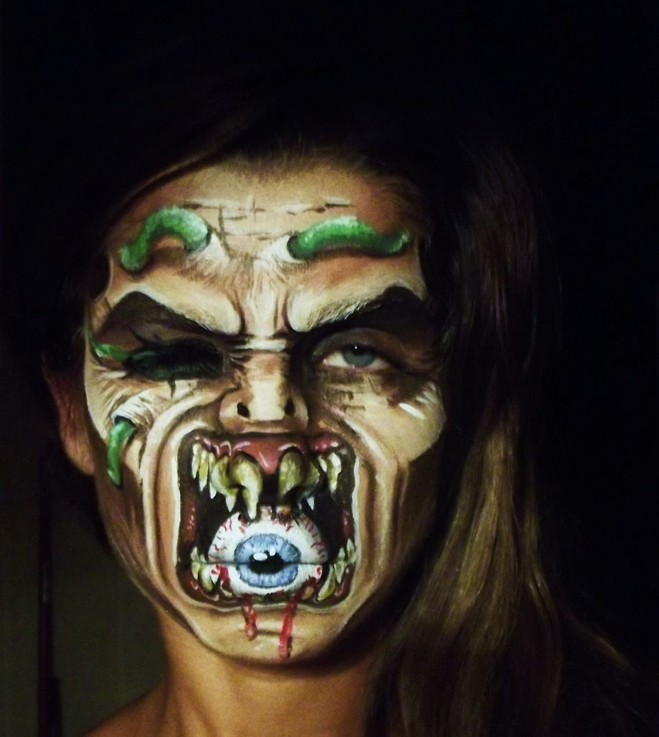 Uncategorized Face Paintings For Halloween halloween face painting competition winners announced announced