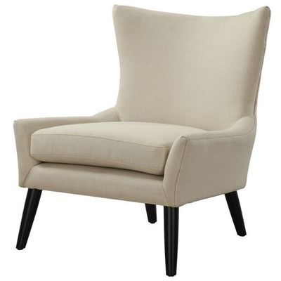 Tov Furniture, TOV-A42, Chairs, Tov Furniture Tov A42 Sullivan Beige Linen Chair