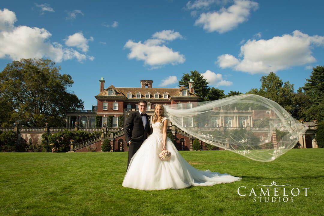 Old Westbury Gardens Wedding Photo