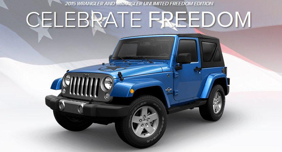 2015 Jeep Wrangler Freedom MSRP 28,590 Standard 9