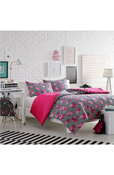 Betsey Johnson Bedding Royal Roses Comforter Sham Set With Images Betsey Johnson Bedding Comforter Sets Designer Comforter Sets