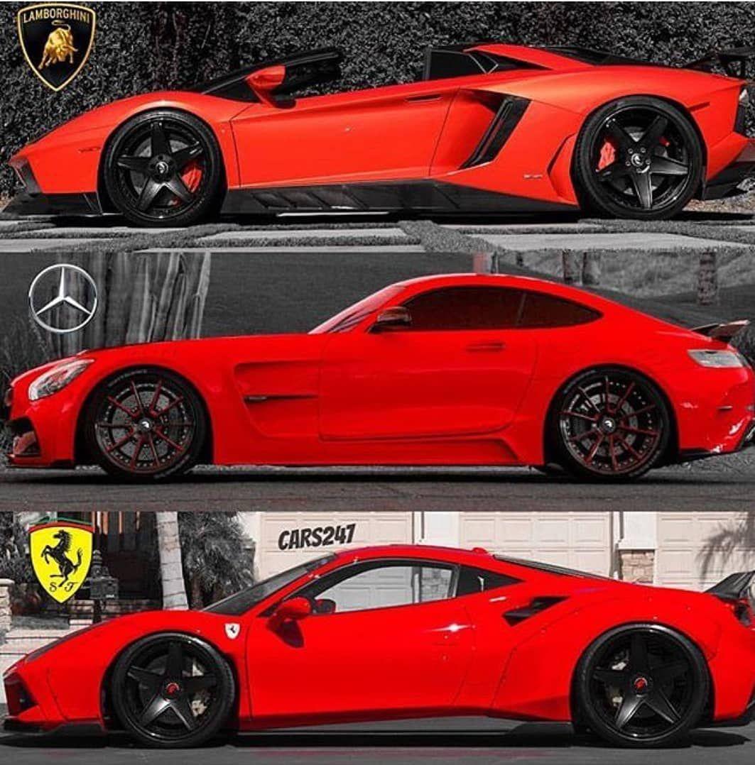 Mercedes or ferrari follow bbsupercars for