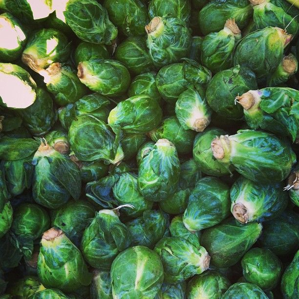 We can't get enough #Brusselssprouts (like these at the 92nd St Greenmarket in #Manhattan)! What's your favorite way to cook this #farmersmarketnyc fall classic?