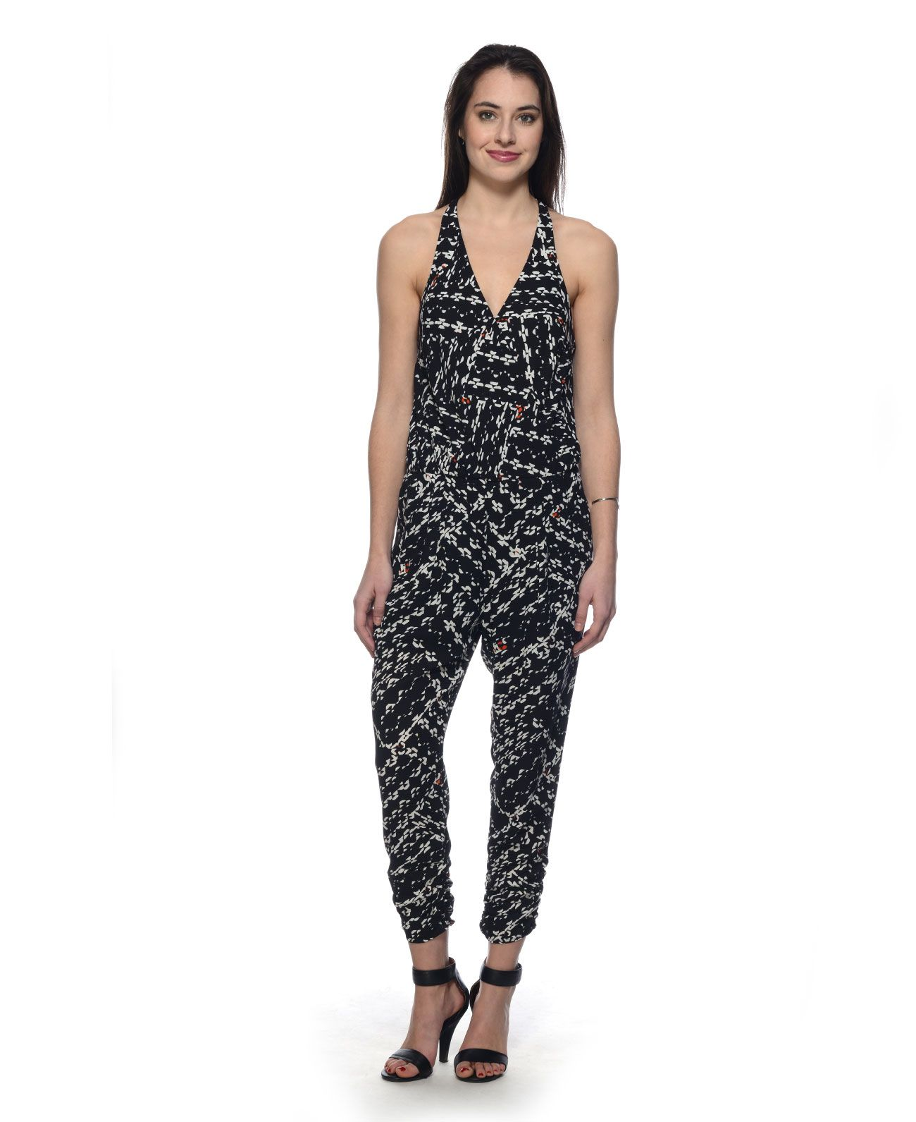 Eight Sixty Rayon Jogger Jumpsuit