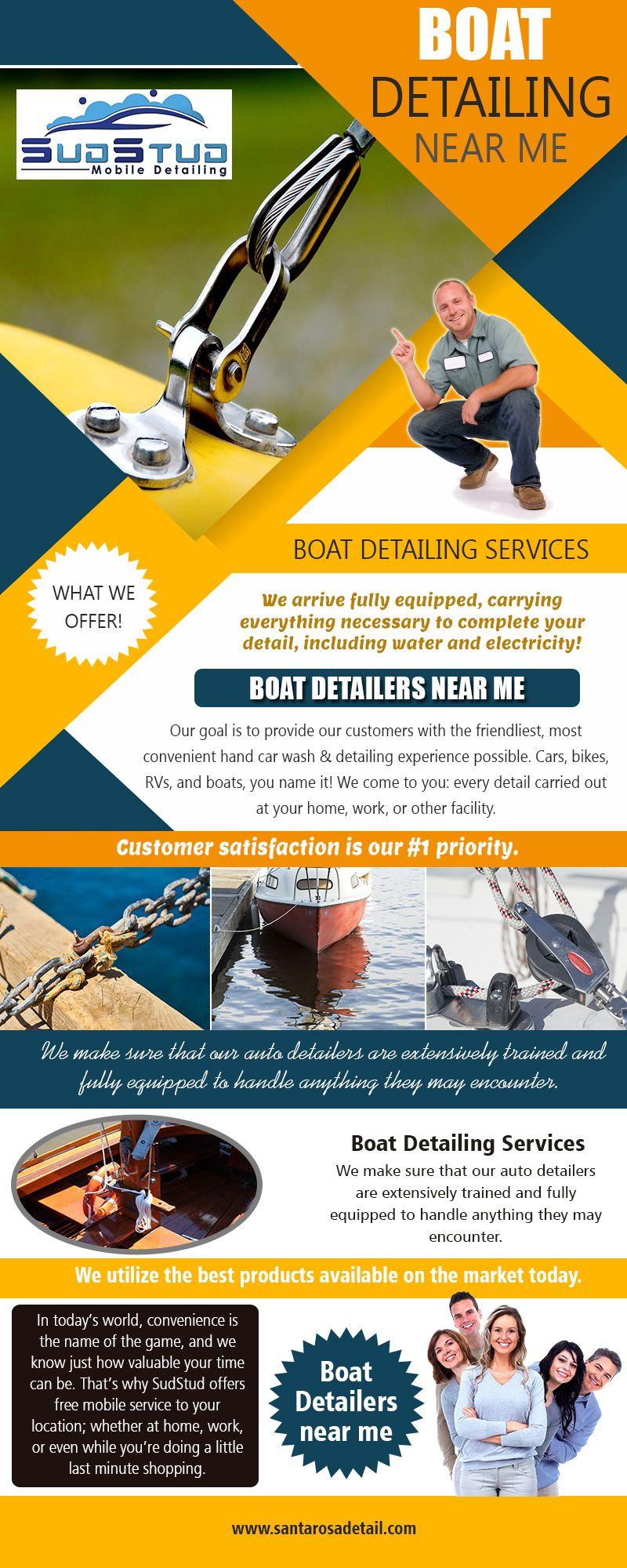 Boat detailingsanta rosa sudstud mobile detail boat